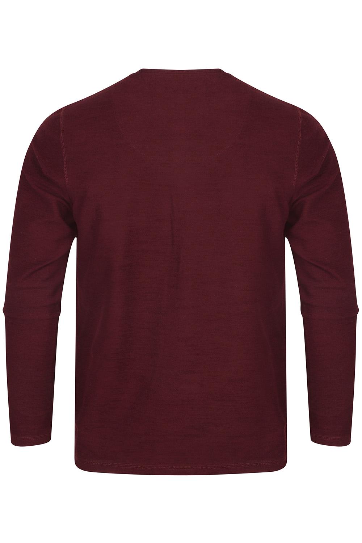 Tokyo-Laundry-Mens-Henley-Neck-Long-Sleeve-Top-Soft-Cotton-Casual-T-Shirt-Tee thumbnail 8