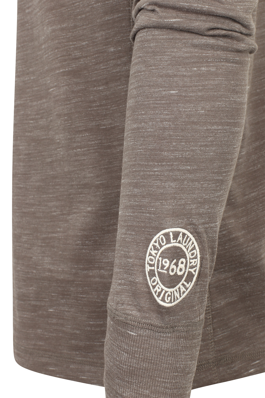 Tokyo-Laundry-Mens-Henley-Neck-Long-Sleeve-Top-Soft-Cotton-Casual-T-Shirt-Tee thumbnail 16