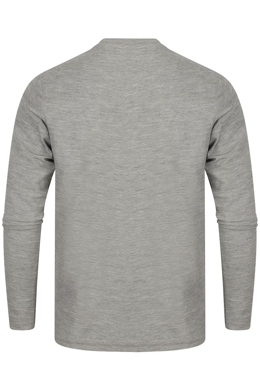 Tokyo-Laundry-Mens-Henley-Neck-Long-Sleeve-Top-Soft-Cotton-Casual-T-Shirt-Tee thumbnail 10