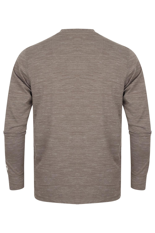 Tokyo-Laundry-Mens-Henley-Neck-Long-Sleeve-Top-Soft-Cotton-Casual-T-Shirt-Tee thumbnail 17