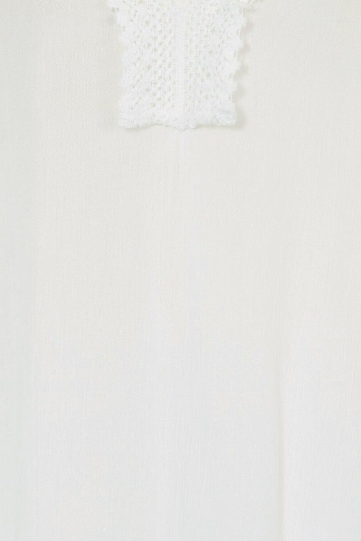 South Beach Womens Tie Neck Beach Cover Up New Ladies Crochet Summer Kaftan Top