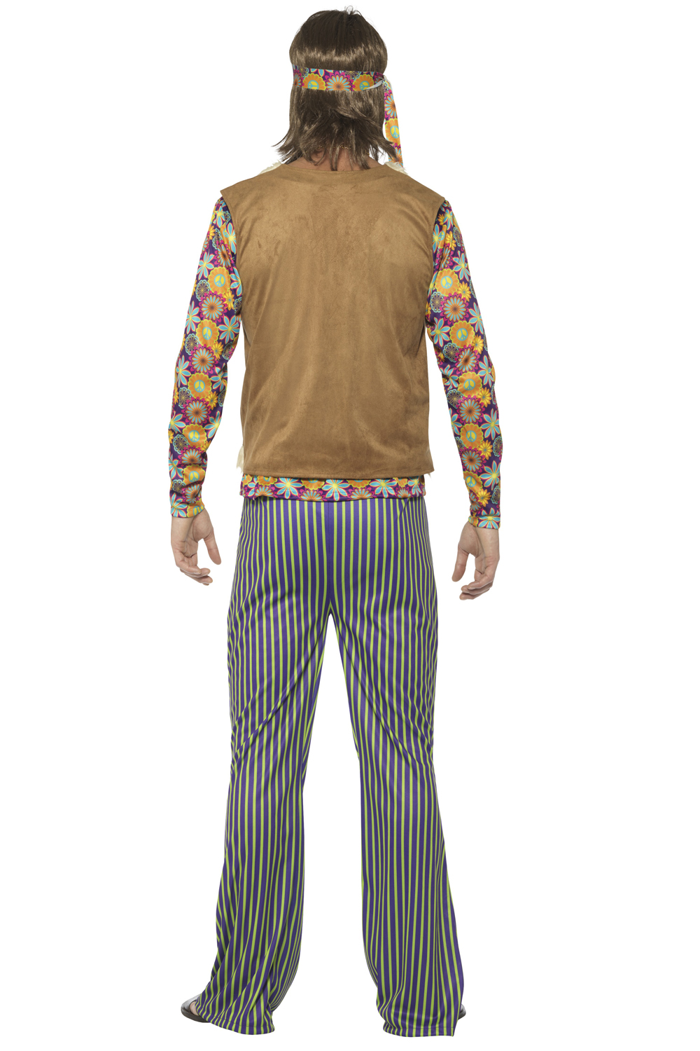 smiffys mens womens hippie singer fancy dress costume 60s groovy party outfit ebay. Black Bedroom Furniture Sets. Home Design Ideas