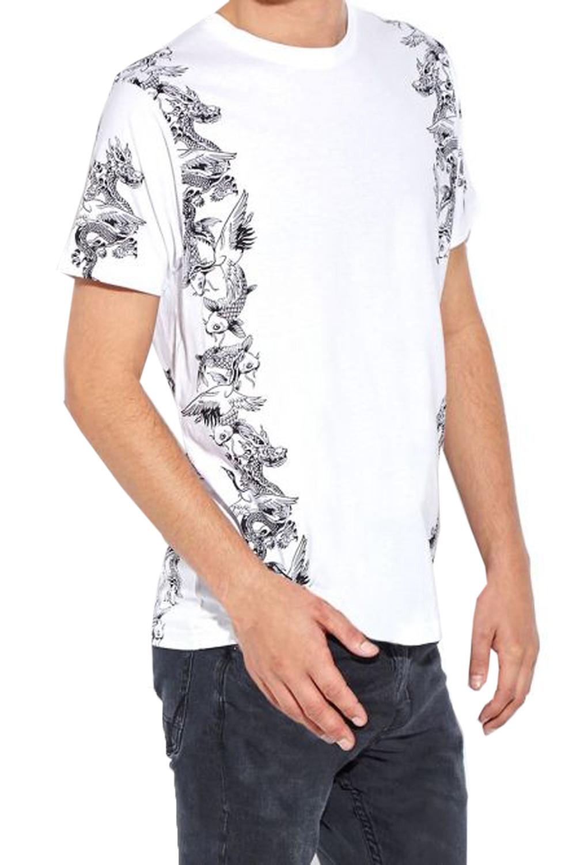 Brave soul mens designer goko or japaness casual summer for Mens designer t shirts uk