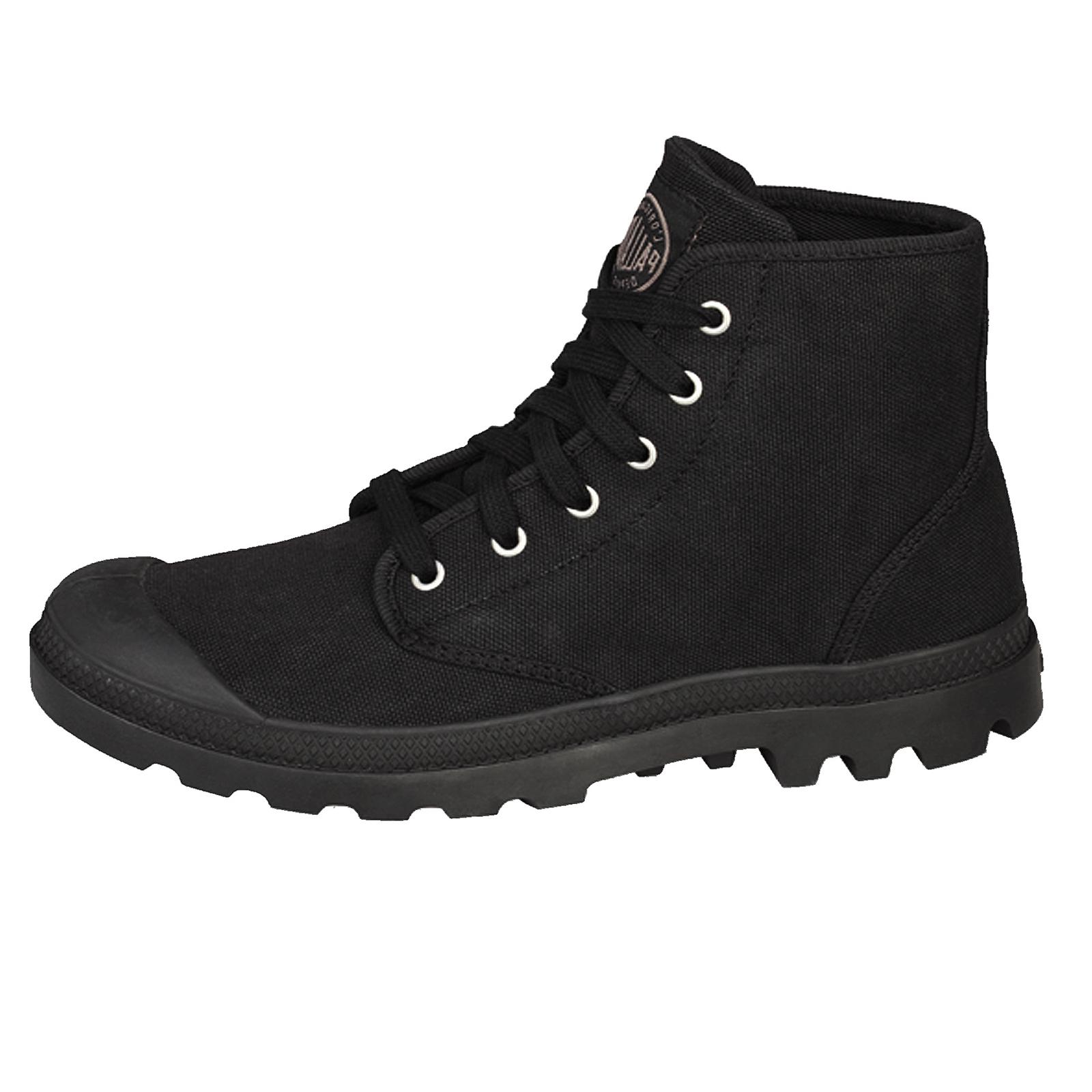 Palladium-Damen-Stiefeletten-Stiefel-Pampa-Hi-Top-Damen-Canvas-Sneaker-Wanderschuhe Indexbild 3