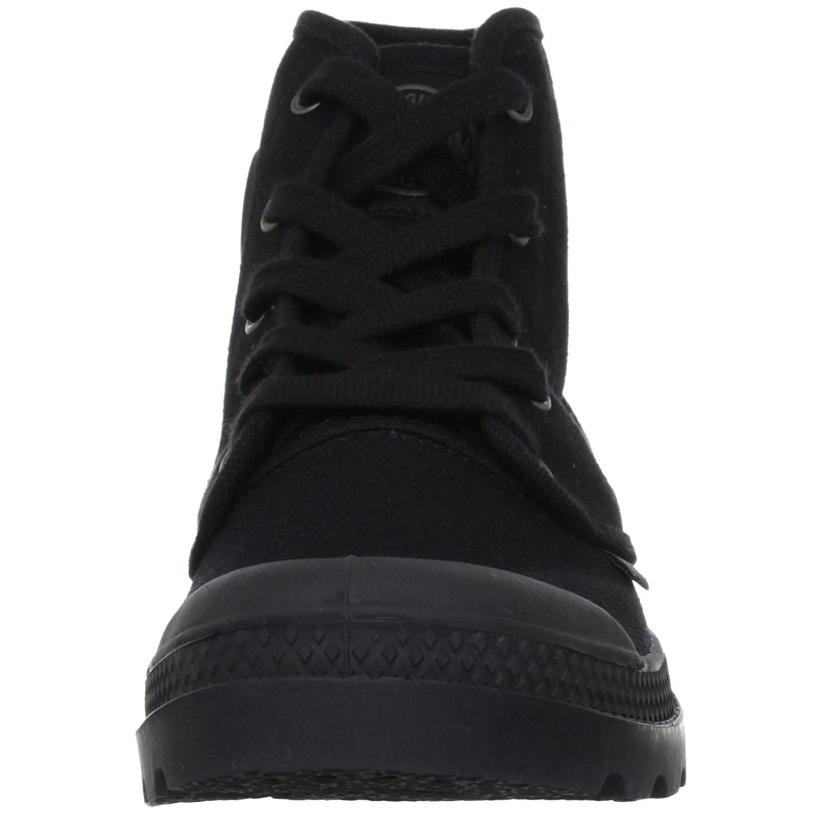 Palladium-Damen-Stiefeletten-Stiefel-Pampa-Hi-Top-Damen-Canvas-Sneaker-Wanderschuhe Indexbild 5