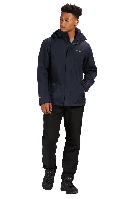 Giacca cappuccio opaca Regatta antivento scuro pioggia Hydrafort uomo a anti impermeabile Cappuccio blu da 4ddfxqnZwP