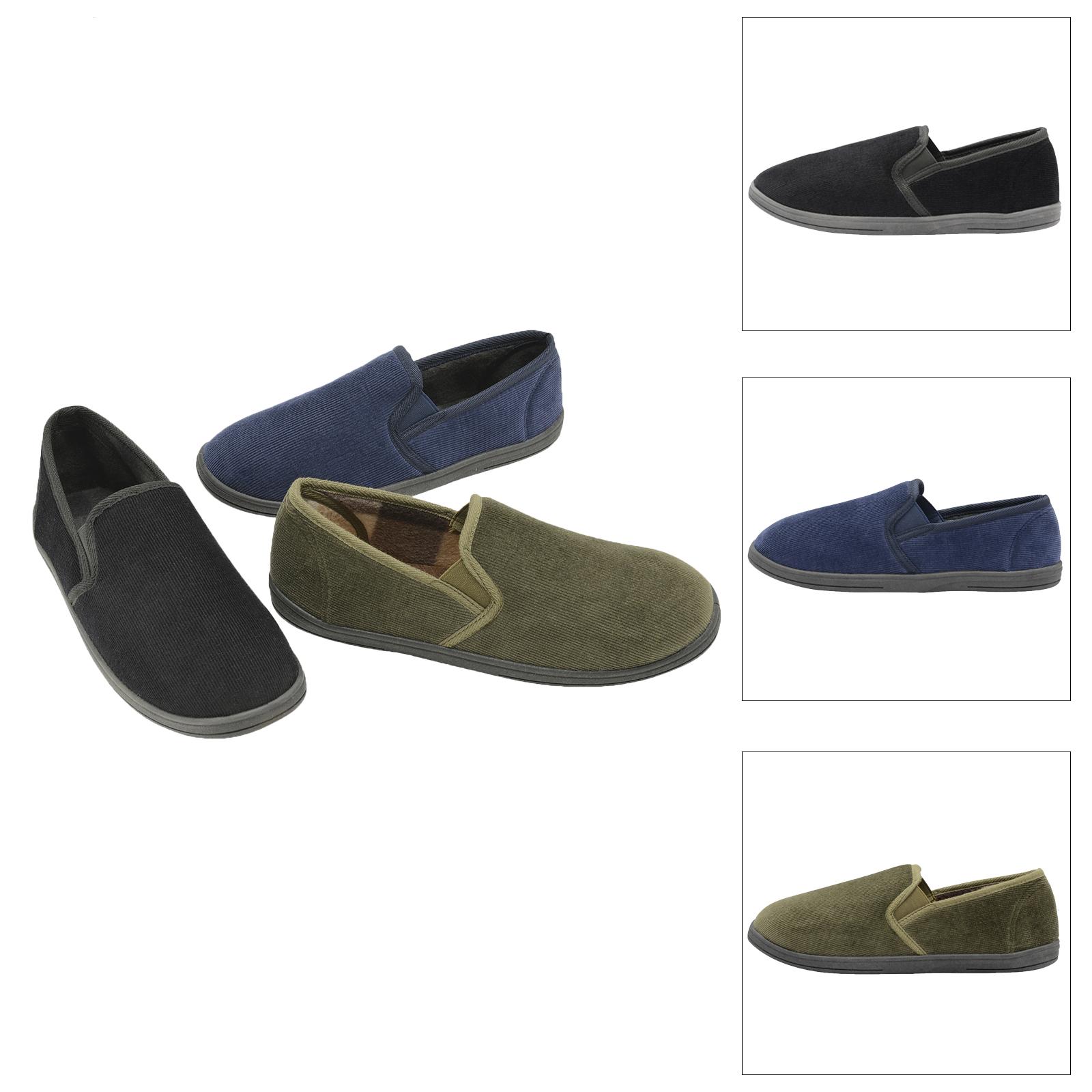 Dunlop Mens Alvere Super Soft Slipper Luxury fy Warm Slip
