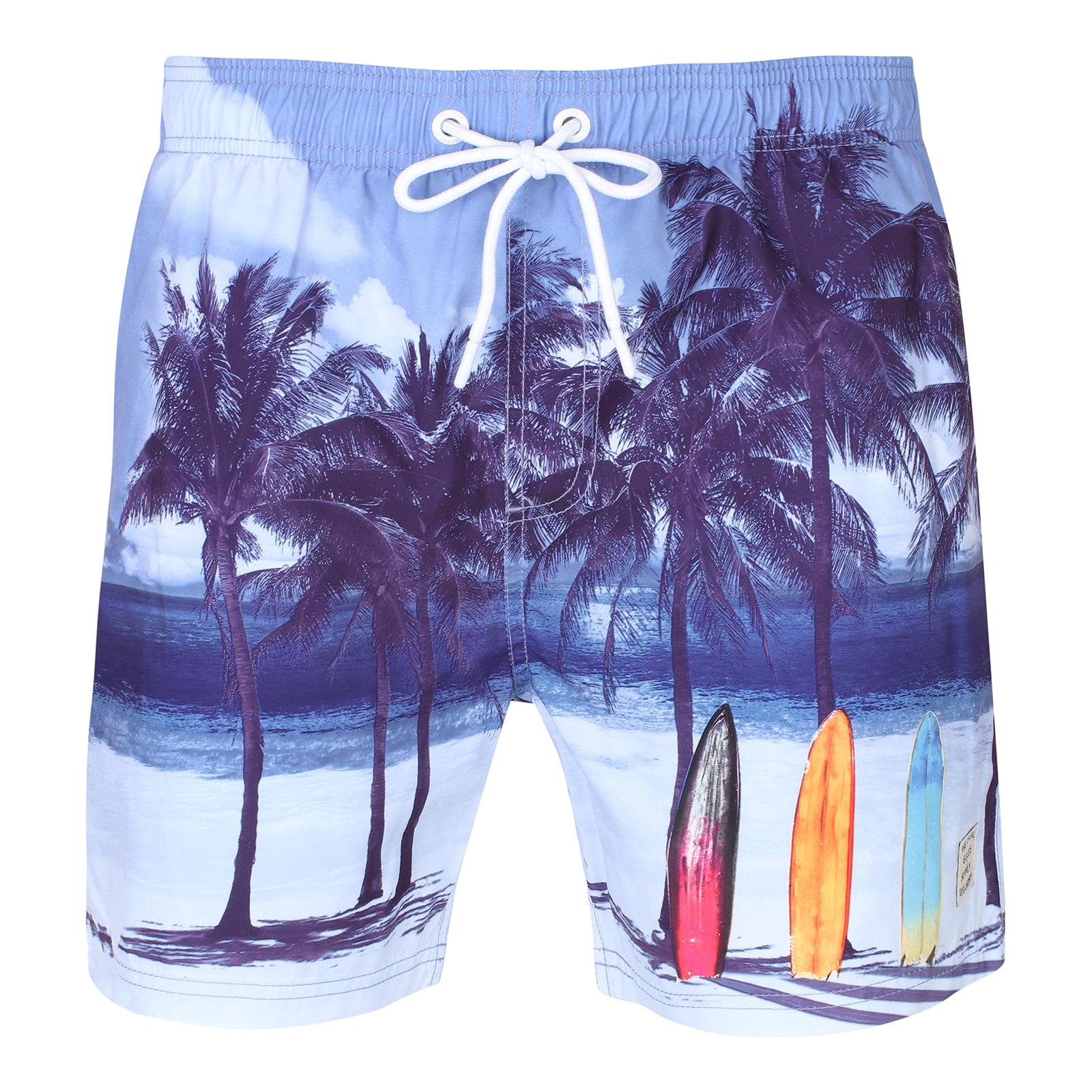 Tokyo Laundry Da Uomo Spiaggia Trunks Tavola da Surf Nuotare Pantaloncini Con Gratuito Infradito