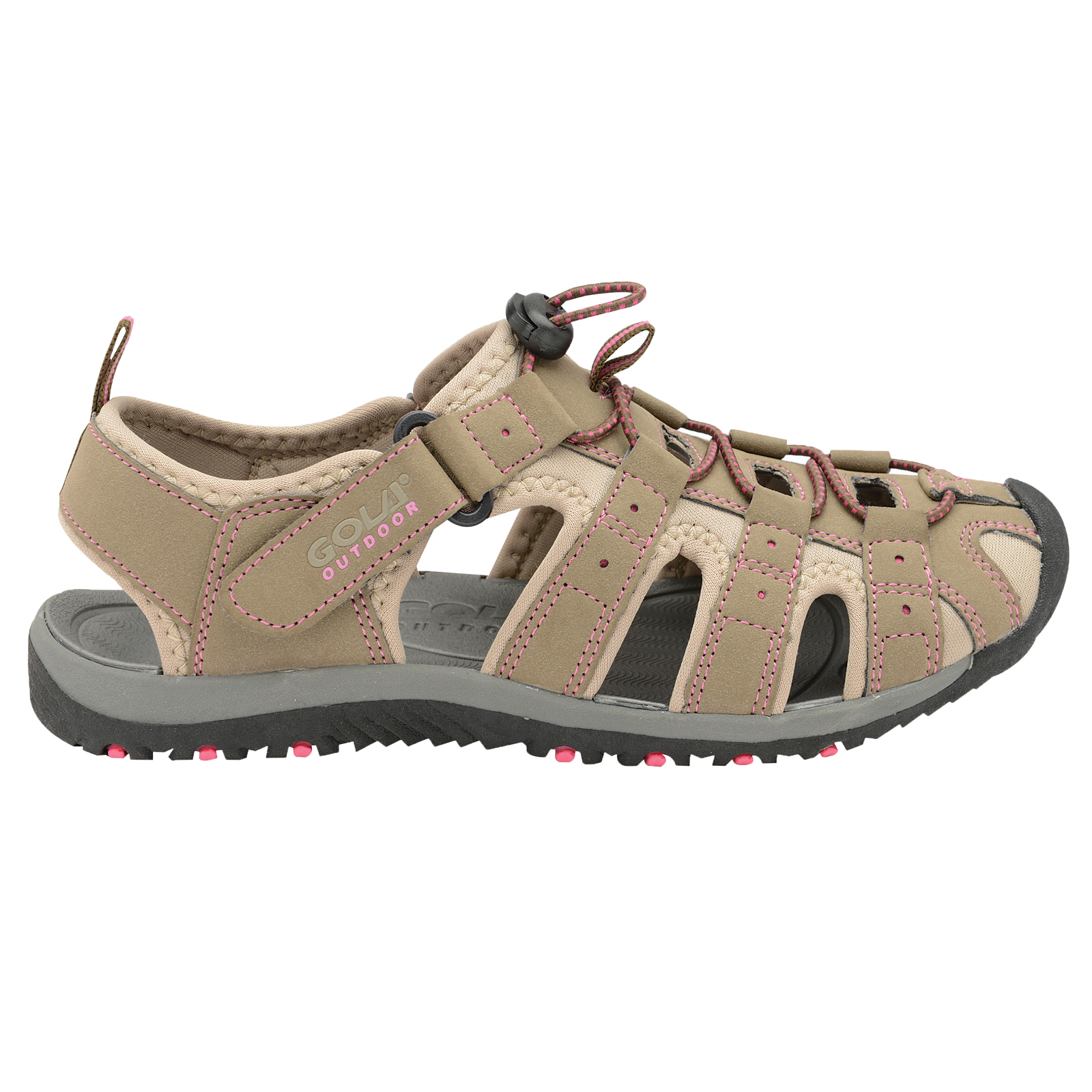 Womens Gola ALP648 Black and Pink UK 5