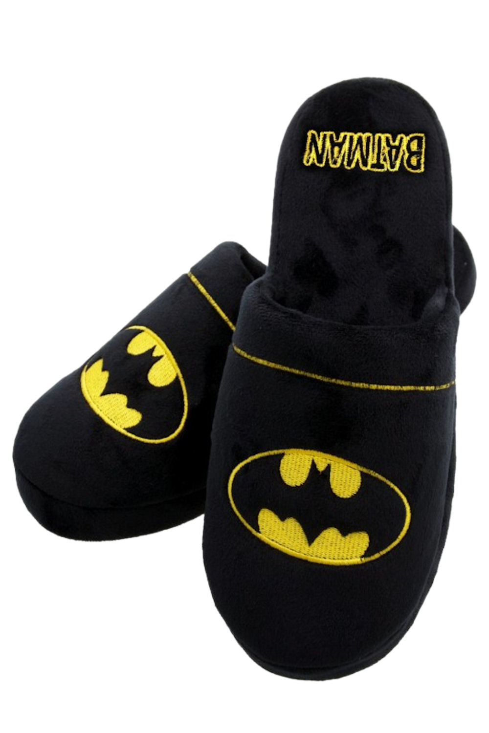 59e5c6e13369 Official Batman DC Comics Superhero Soft Plush Kids Mens Slip On ...