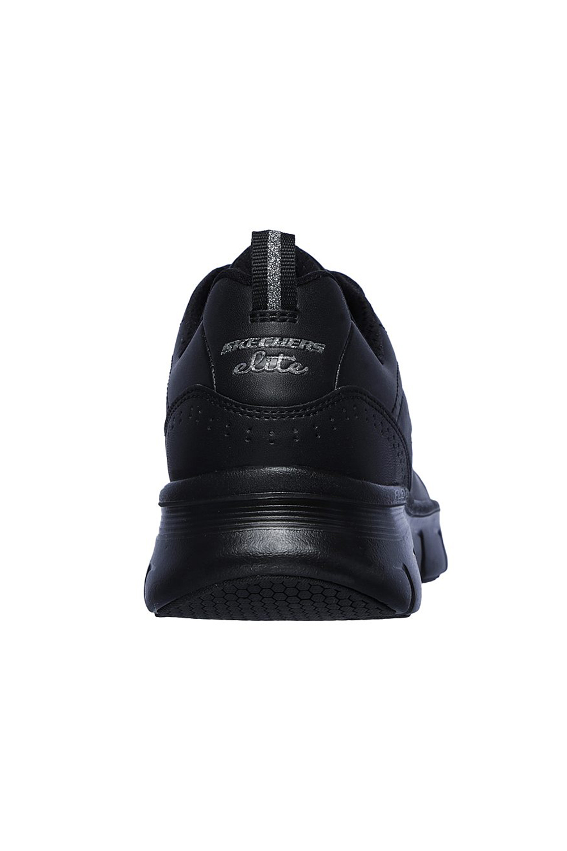 Skechers-Para-Mujer-Synergy-3-0-Entrenadores-Cuero-Memoria-Foam-Zapatillas-Zapatos-Con-Cordones miniatura 6