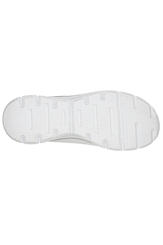 Skechers-Para-Mujer-Synergy-3-0-Entrenadores-Cuero-Memoria-Foam-Zapatillas-Zapatos-Con-Cordones miniatura 12