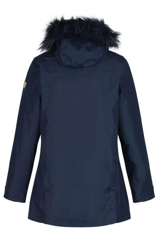 Regatta Womens Myla Waterproof Insulated Hydrafort Hooded Parka Jacket Coat