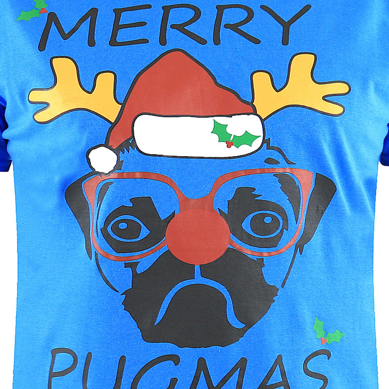 D555-Duke-Mens-King-Size-Festive-Xmas-T-Shirt-Funny-Novelty-Christmas-Tee-Tops thumbnail 11