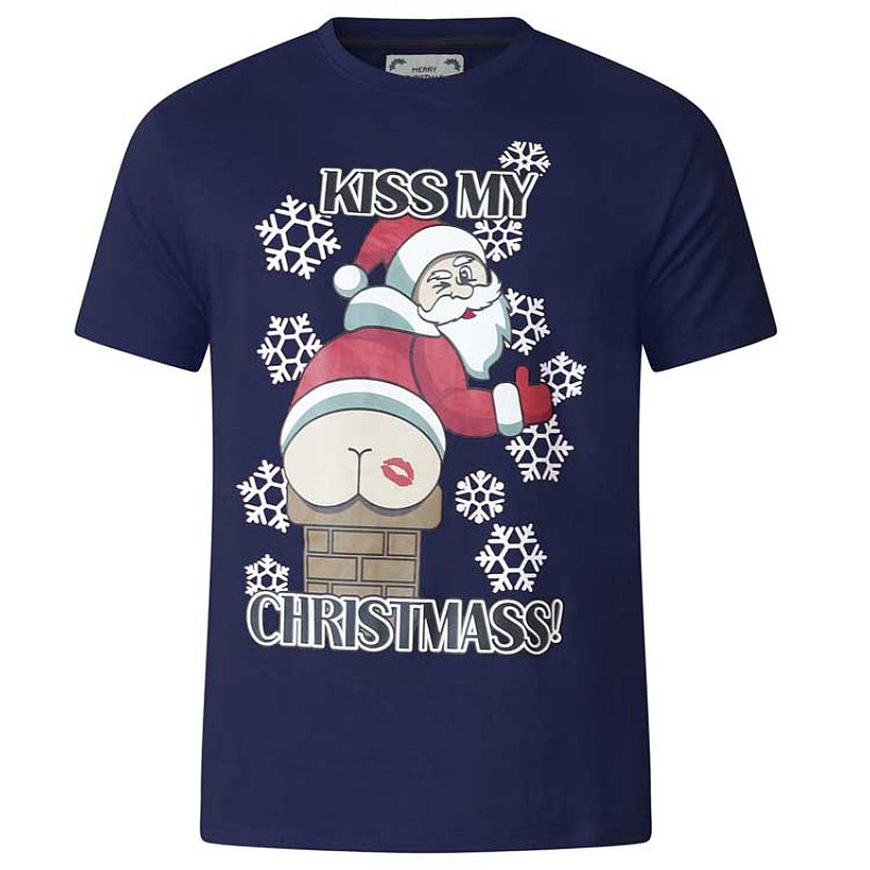 D555-Duke-Mens-King-Size-Festive-Xmas-T-Shirt-Funny-Novelty-Christmas-Tee-Tops thumbnail 15