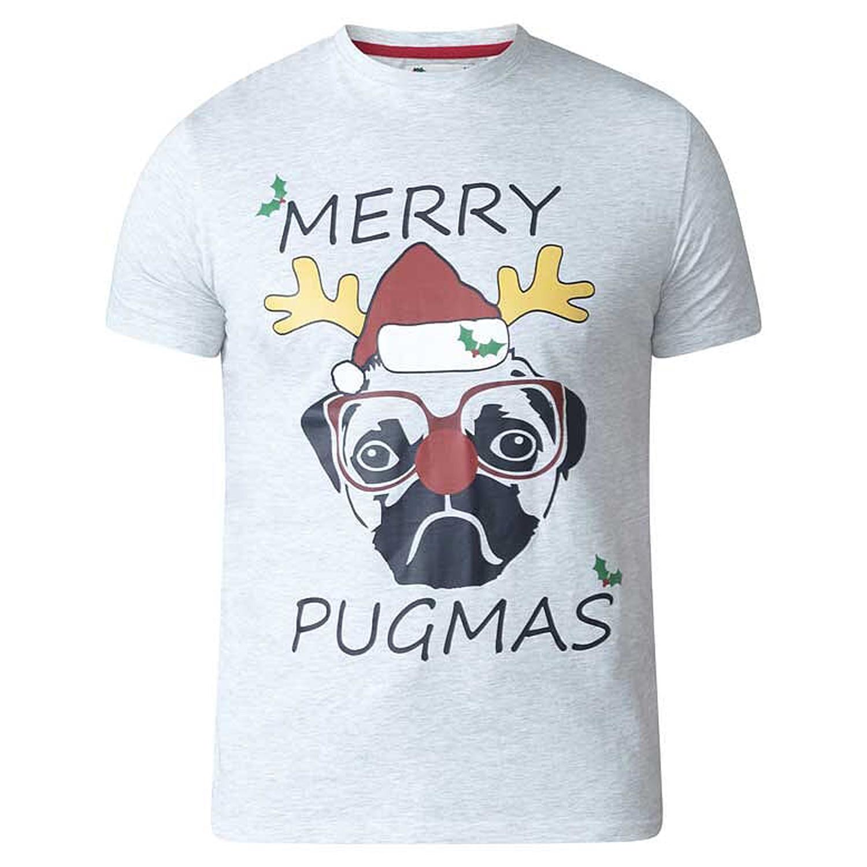 D555-Duke-Mens-King-Size-Festive-Xmas-T-Shirt-Funny-Novelty-Christmas-Tee-Tops thumbnail 7