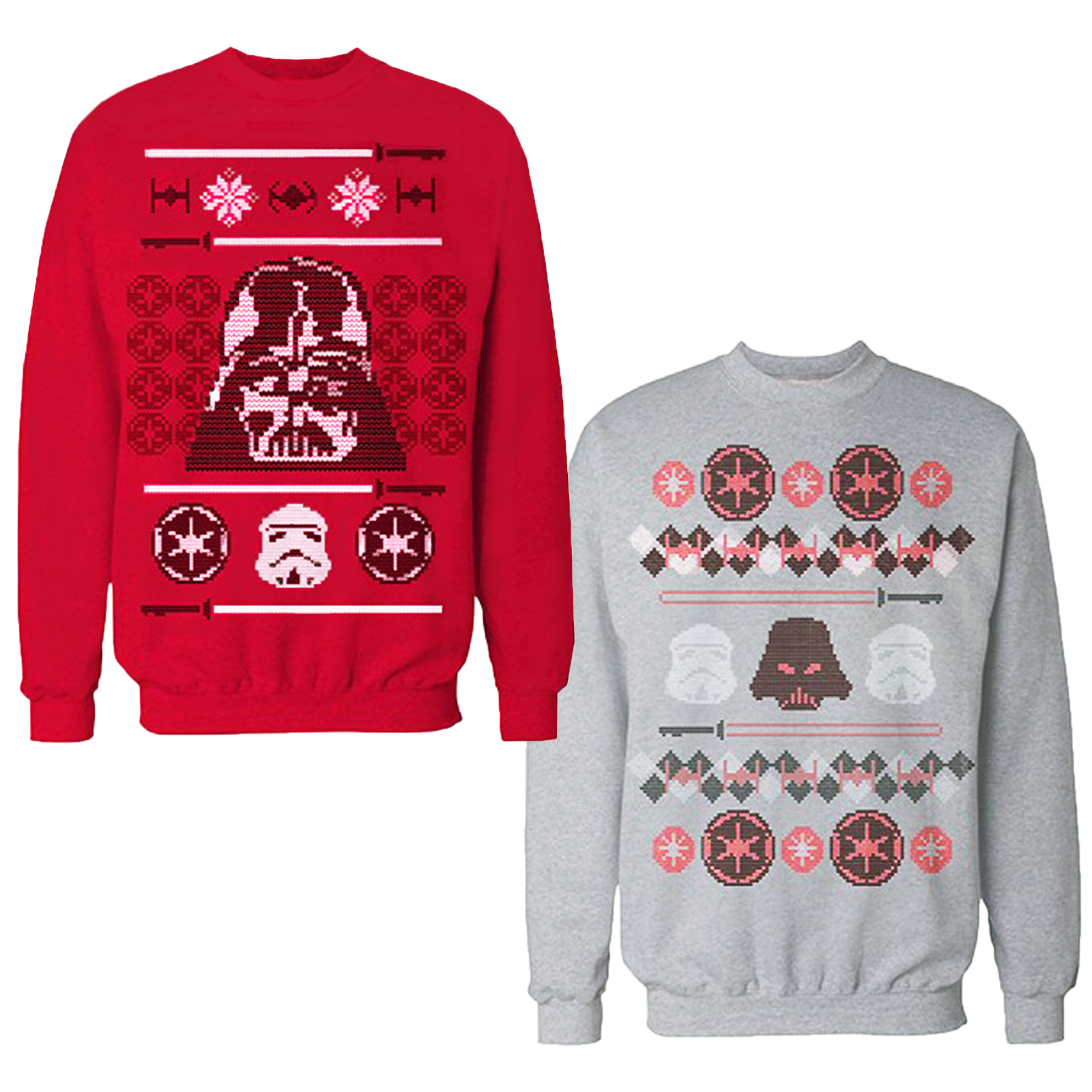 star wars weihnachten pulli erwachsene darth vader. Black Bedroom Furniture Sets. Home Design Ideas