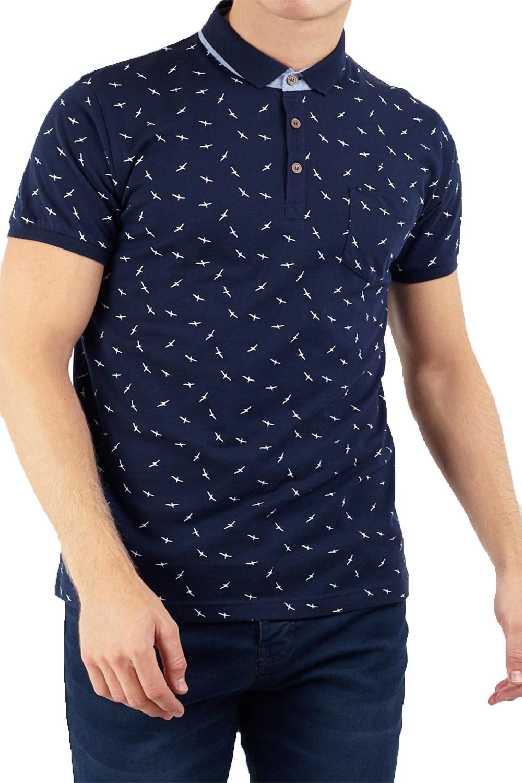 Brave-Soul-Mens-Casual-Summer-Polo-Shirts-Designer-Stylish-Short-Sleeve-Tops thumbnail 9