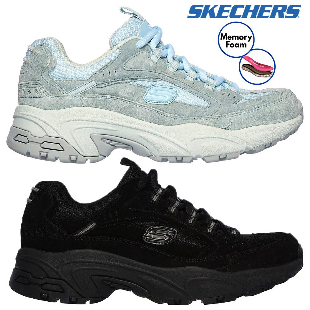 Nuovo Stamina Sport Skechers scarpe Lace up ginnastica da