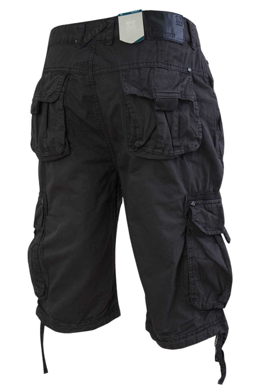 Crosshatch-Mens-Cargo-Shorts-Lightweight-Knee-Length-Utility-Combat-Summer-Pants thumbnail 6