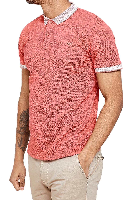 Threadbare-Mens-Warsaw-Polo-Shirt-Designer-Collared-Contrast-Trim-Pique-T-Shirt thumbnail 12