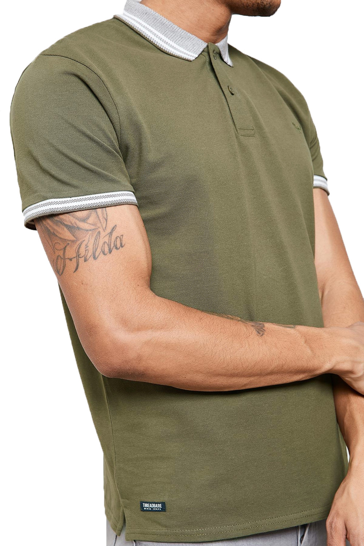 Threadbare-Mens-Warsaw-Polo-Shirt-Designer-Collared-Contrast-Trim-Pique-T-Shirt thumbnail 9
