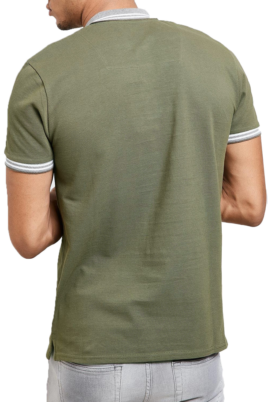 Threadbare-Mens-Warsaw-Polo-Shirt-Designer-Collared-Contrast-Trim-Pique-T-Shirt thumbnail 10