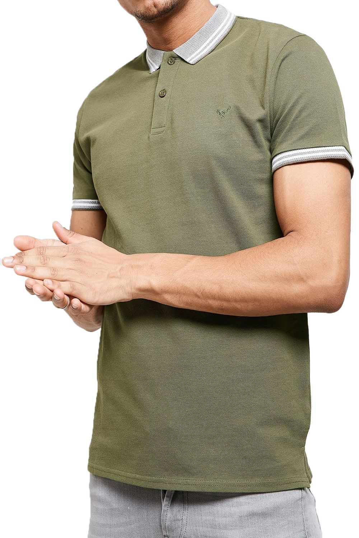 Threadbare-Mens-Warsaw-Polo-Shirt-Designer-Collared-Contrast-Trim-Pique-T-Shirt thumbnail 8