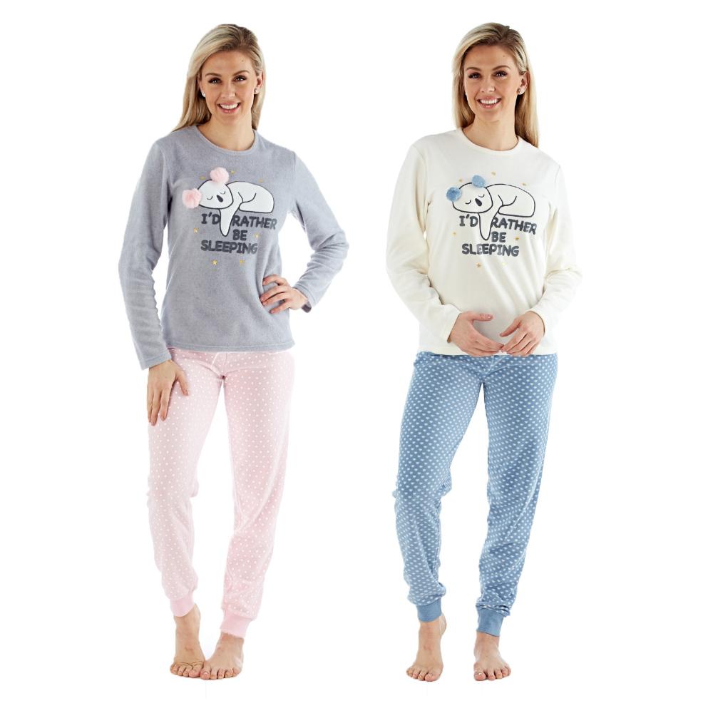 Selena Secrets Pyjama en polaire pour femme