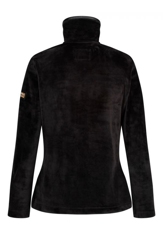 Regatta-Womens-Halona-Luxury-Soft-Velour-Fleece-Jacket-Zip-Up-Collared-Jumper thumbnail 8
