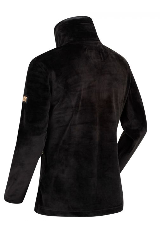 Regatta-Womens-Halona-Luxury-Soft-Velour-Fleece-Jacket-Zip-Up-Collared-Jumper thumbnail 7