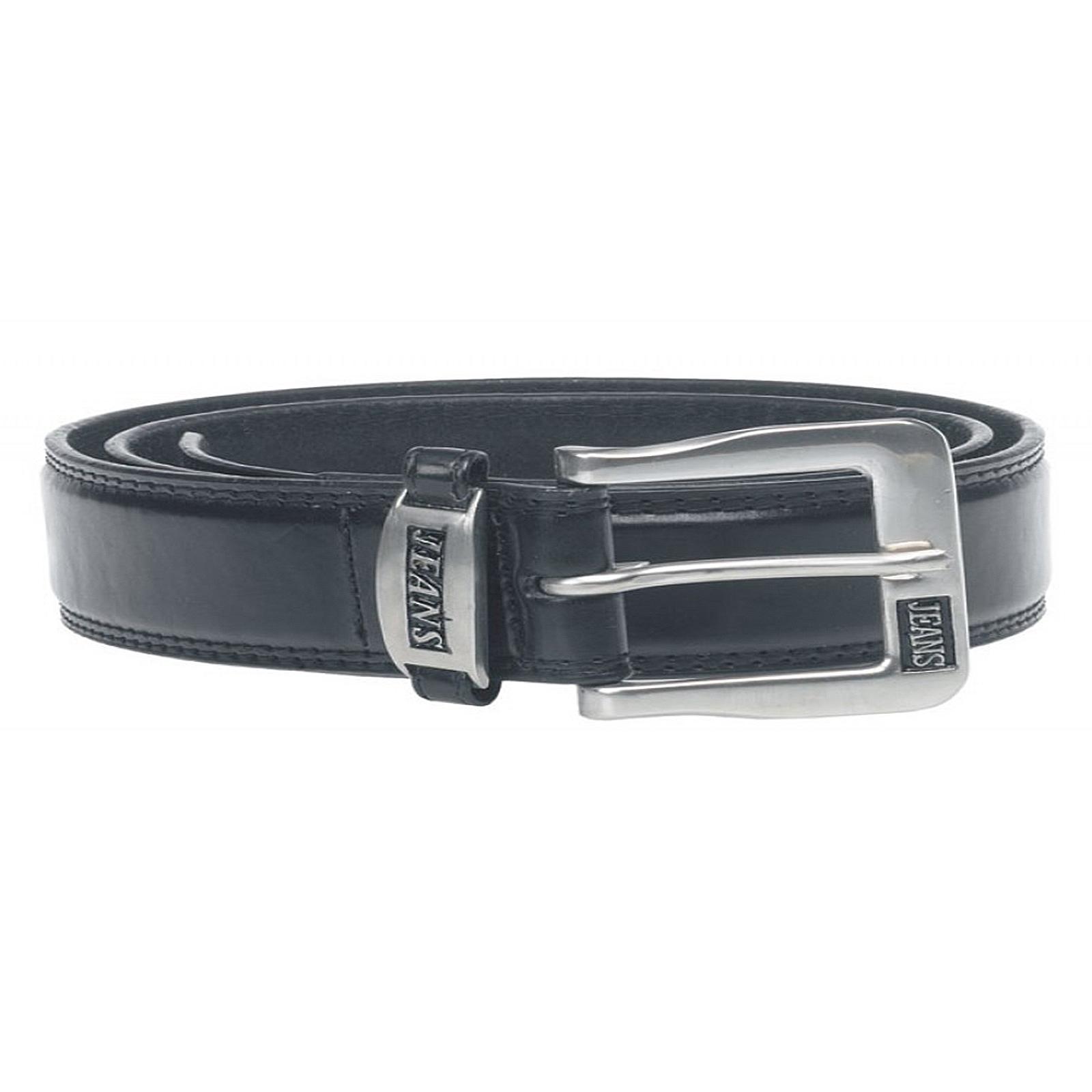 D555 Kingsize Mens Xtenda Belt Bonded Leather With Elastic Insert Metal Buckle