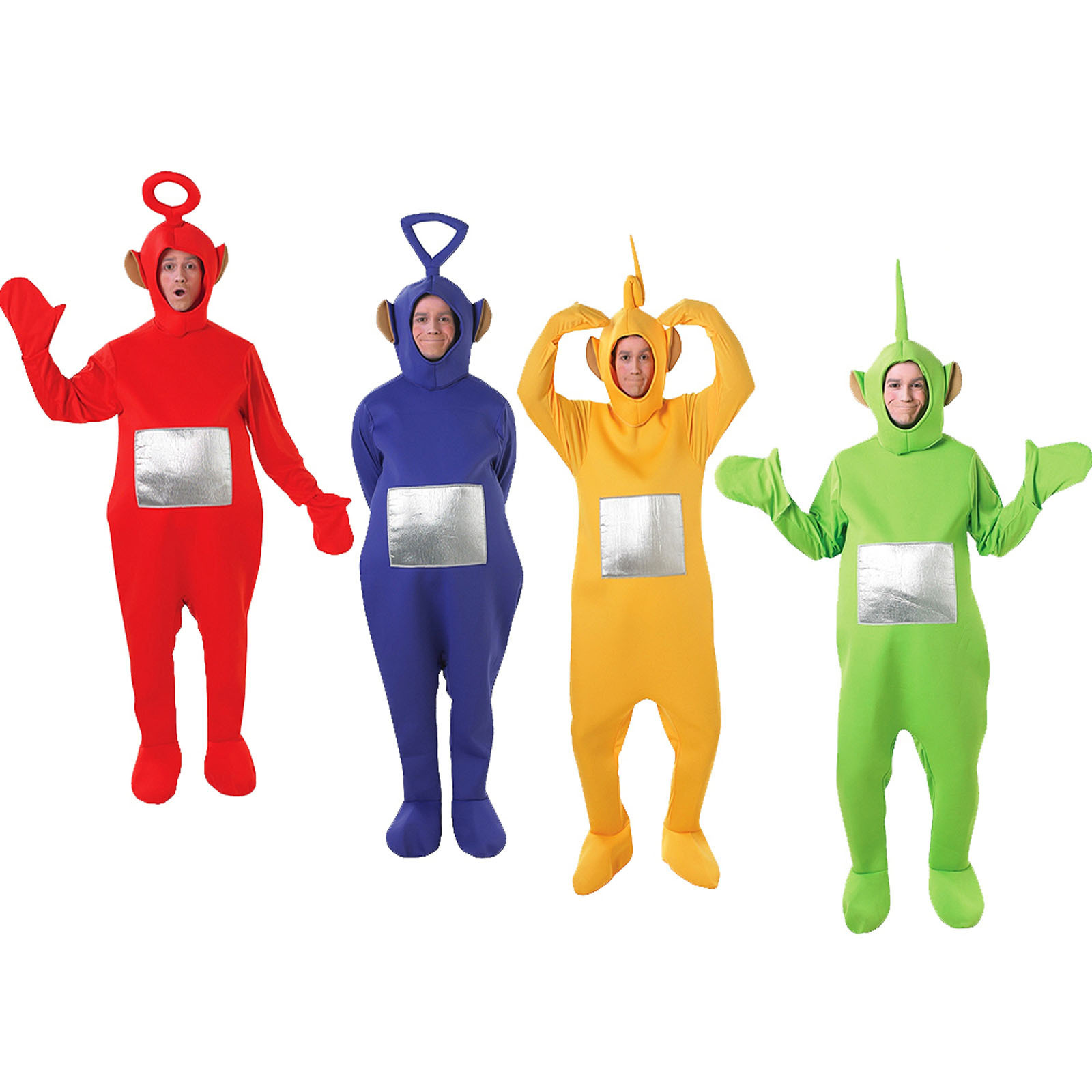 Rubieu0027s  sc 1 st  eBay & Rubies Adult Official Teletubbies Costume Mens Womens TV Fancy Dress ...
