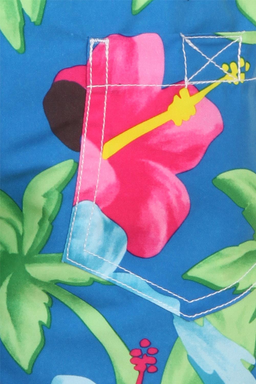 miniatura 21 - Nifty Bambini Ragazzi Stampa Nuoto Pantaloncini Estate Spiaggia Hawaiana Surf BAULI