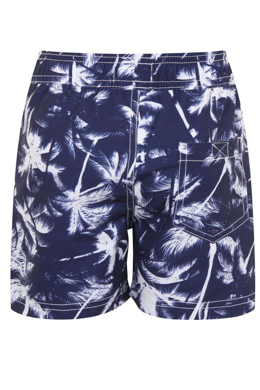 miniatura 15 - Nifty Bambini Ragazzi Stampa Nuoto Pantaloncini Estate Spiaggia Hawaiana Surf BAULI