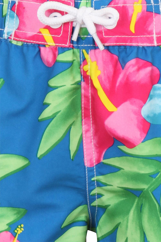 miniatura 20 - Nifty Bambini Ragazzi Stampa Nuoto Pantaloncini Estate Spiaggia Hawaiana Surf BAULI