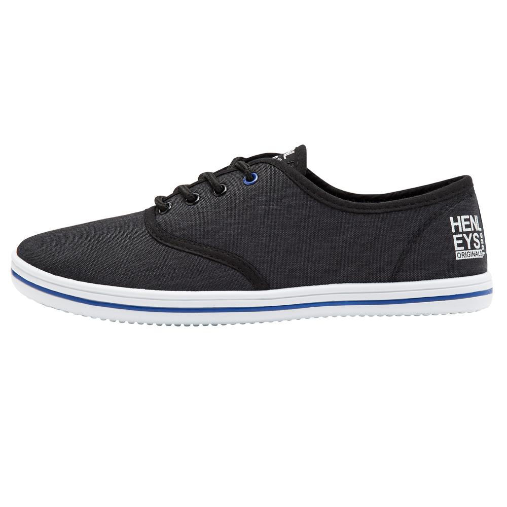 Henleys-Men-039-s-Milo-New-Canvas-Trainers-Lace-Up-Summer-Beach-Shoes-Plimsoles thumbnail 10