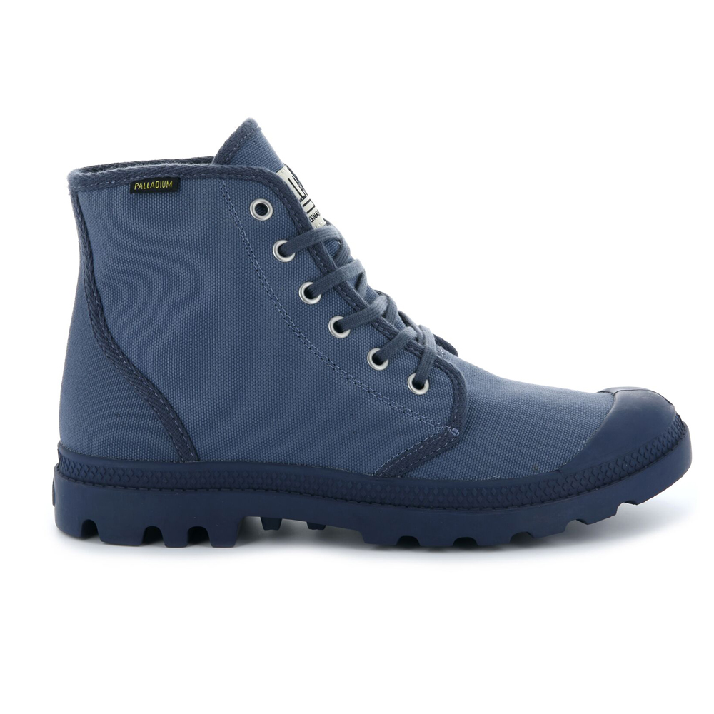 Palladium-Mens-Pampa-High-Orig-Boots-Canvas-Lace-Up-Walking-Hi-Top-Ankle-Shoes thumbnail 19