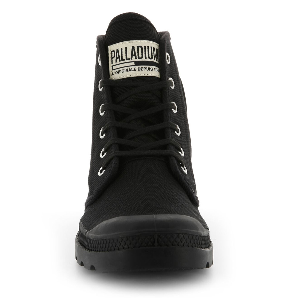 Palladium-Mens-Pampa-High-Orig-Boots-Canvas-Lace-Up-Walking-Hi-Top-Ankle-Shoes thumbnail 3