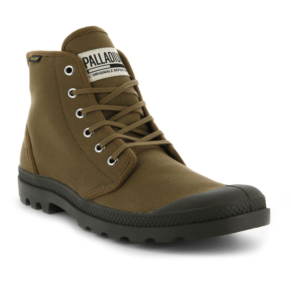 Palladium   Herren Pampa High Orig Stiefel Canvas Top Lace Up Walking Hi Top Canvas Ankle Schuhes a3bcfa