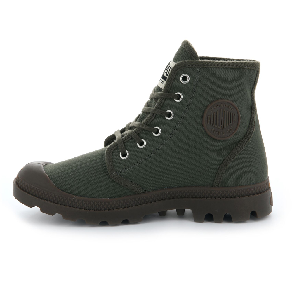 Palladium-Mens-Pampa-High-Orig-Boots-Canvas-Lace-Up-Walking-Hi-Top-Ankle-Shoes thumbnail 14