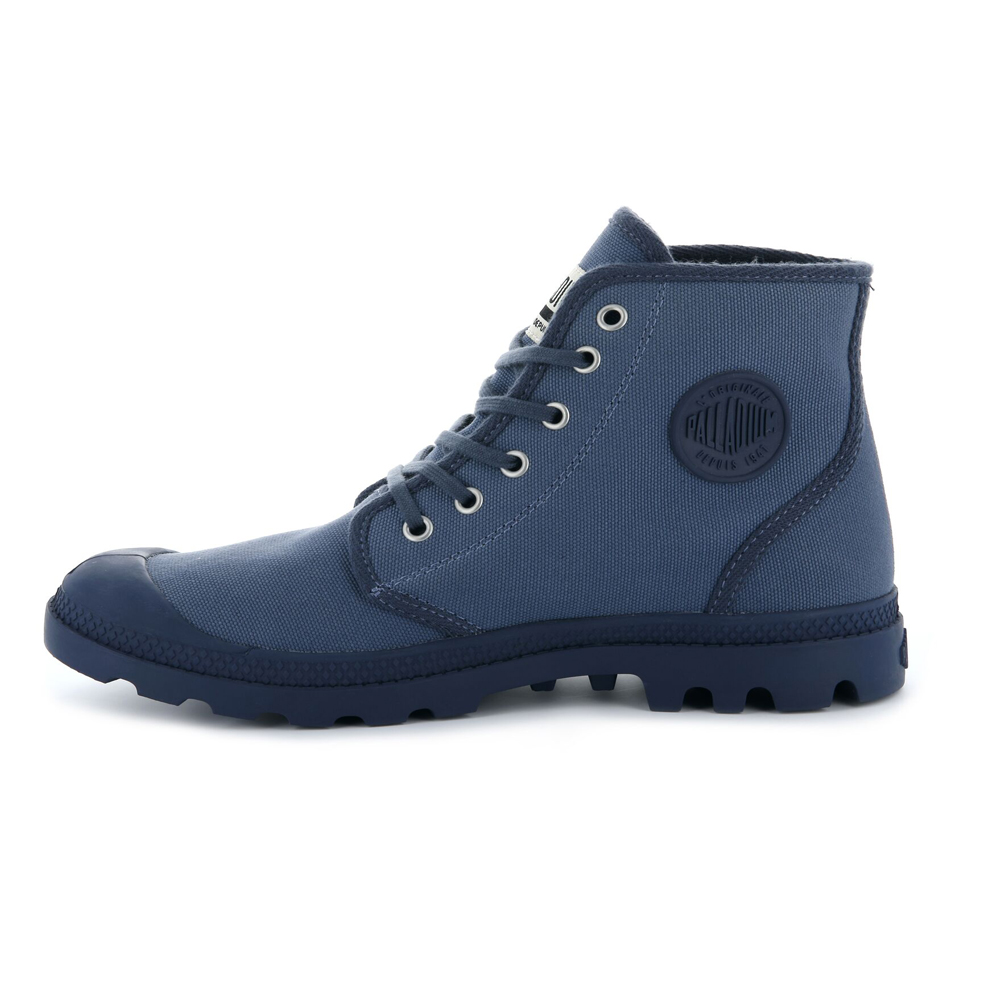 Palladium-Mens-Pampa-High-Orig-Boots-Canvas-Lace-Up-Walking-Hi-Top-Ankle-Shoes thumbnail 20