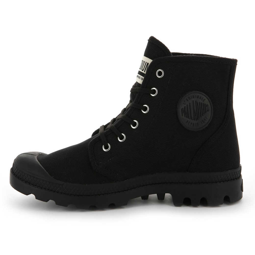 Palladium-Mens-Pampa-High-Orig-Boots-Canvas-Lace-Up-Walking-Hi-Top-Ankle-Shoes thumbnail 5
