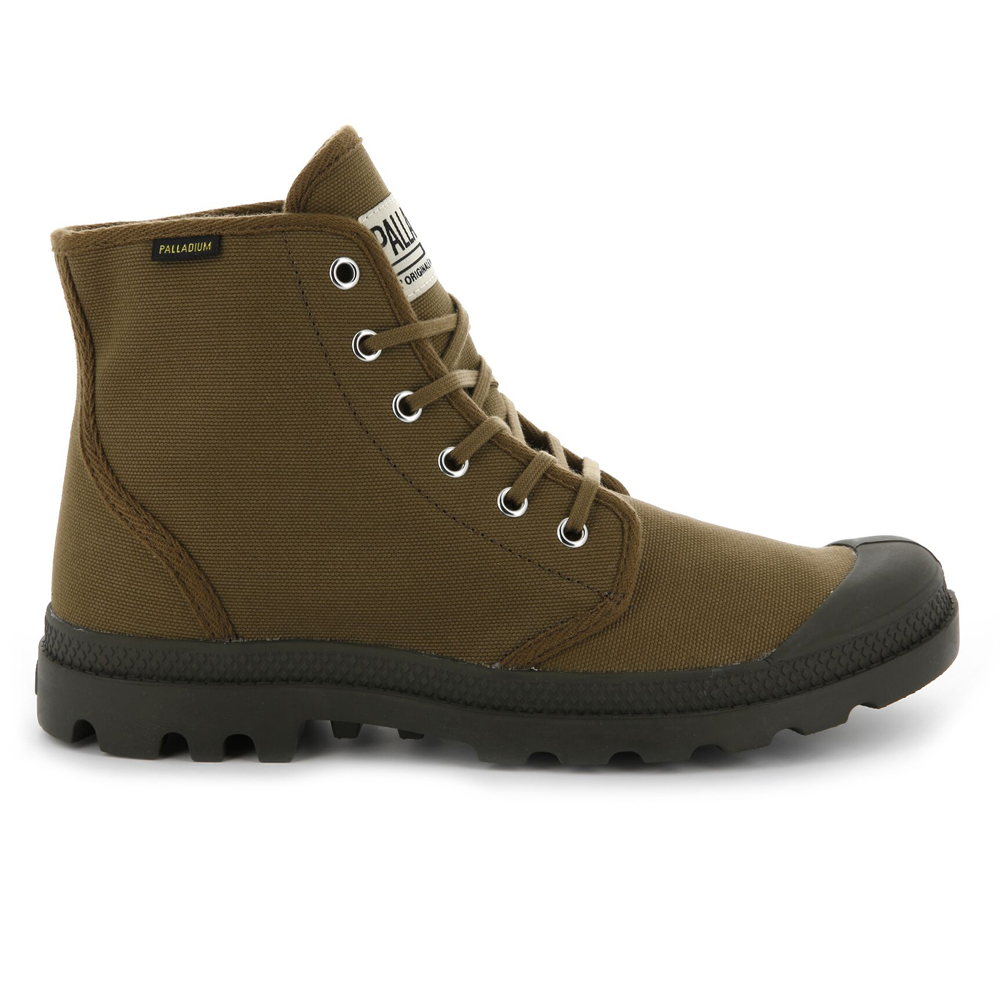 Palladium-Mens-Pampa-High-Orig-Boots-Canvas-Lace-Up-Walking-Hi-Top-Ankle-Shoes thumbnail 10