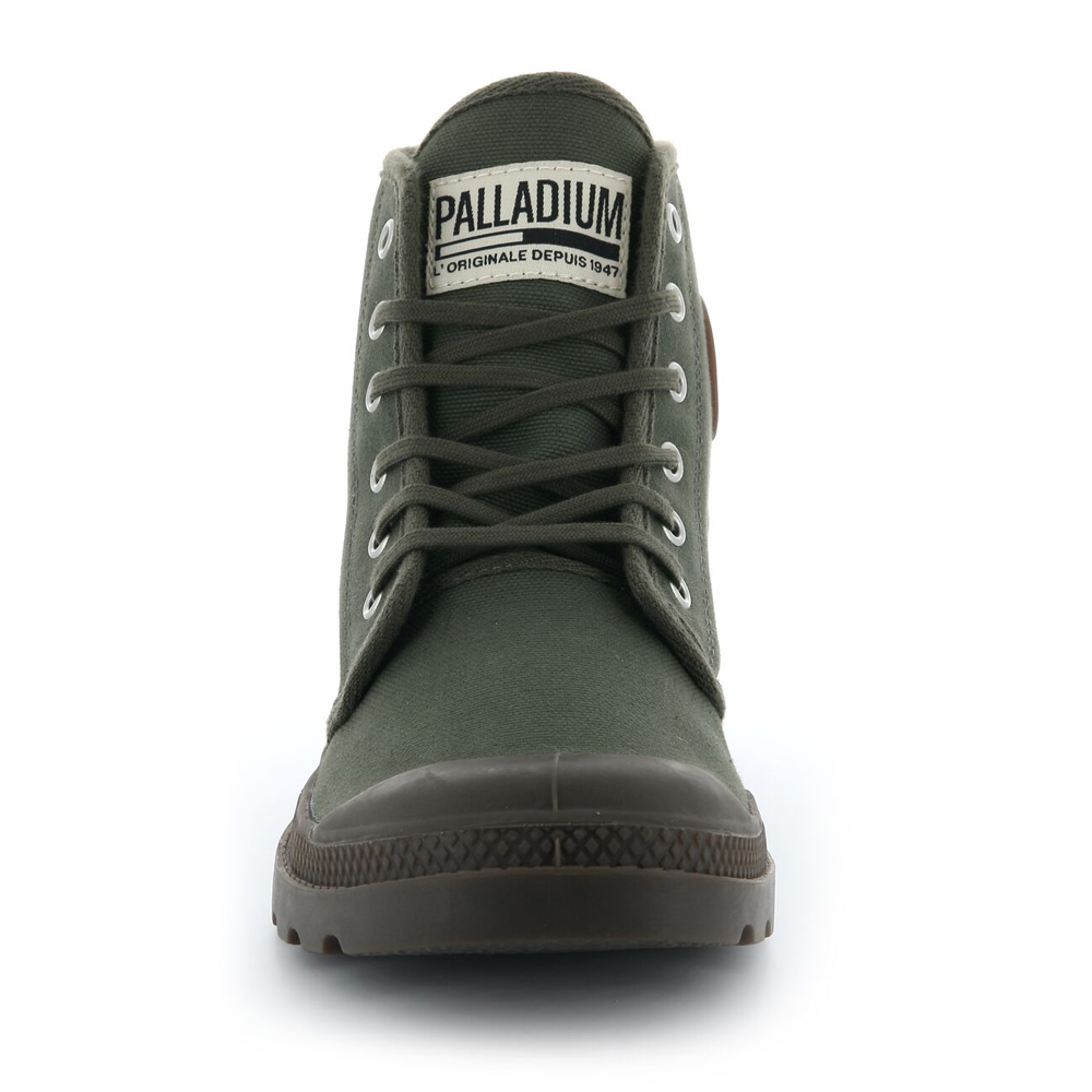 Palladium-Mens-Pampa-High-Orig-Boots-Canvas-Lace-Up-Walking-Hi-Top-Ankle-Shoes thumbnail 13