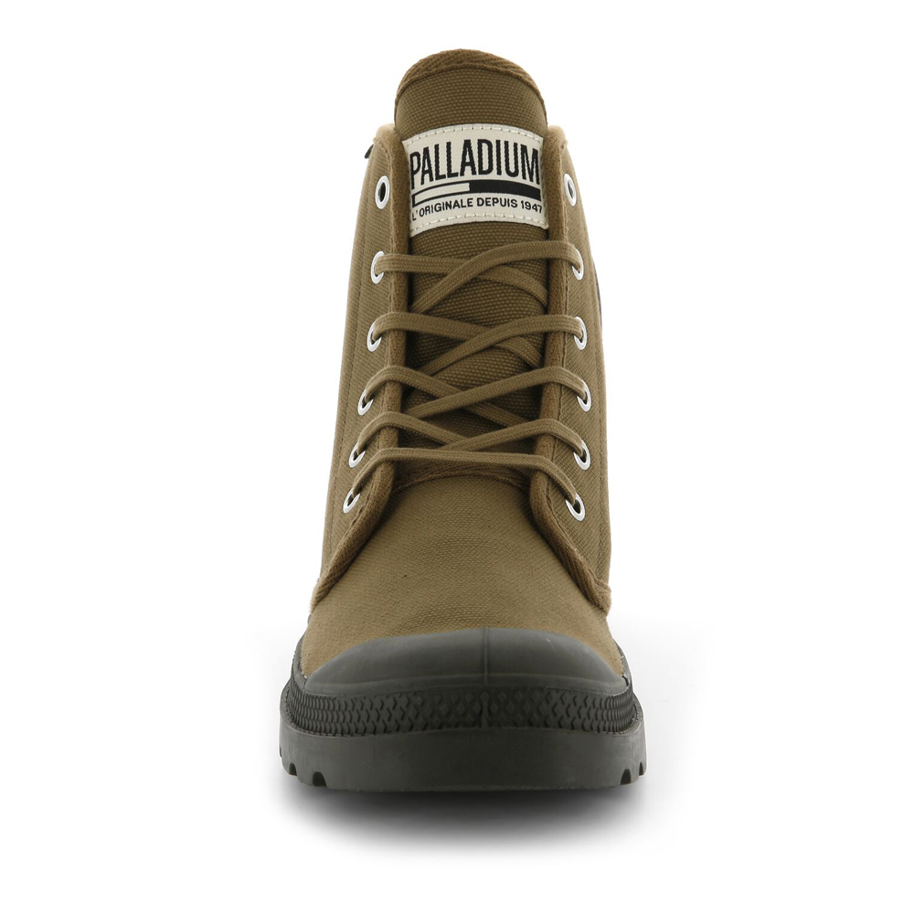 Palladium-Mens-Pampa-High-Orig-Boots-Canvas-Lace-Up-Walking-Hi-Top-Ankle-Shoes thumbnail 8