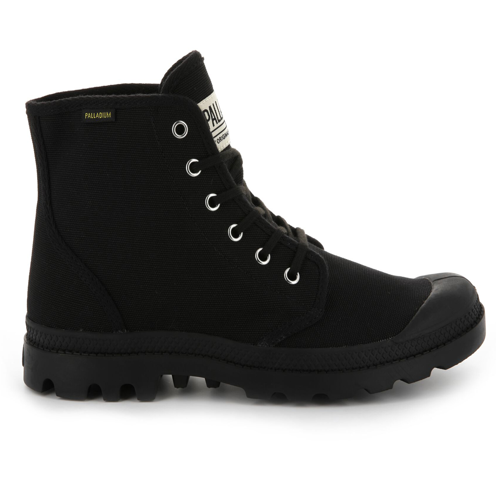 Palladium-Mens-Pampa-High-Orig-Boots-Canvas-Lace-Up-Walking-Hi-Top-Ankle-Shoes thumbnail 4