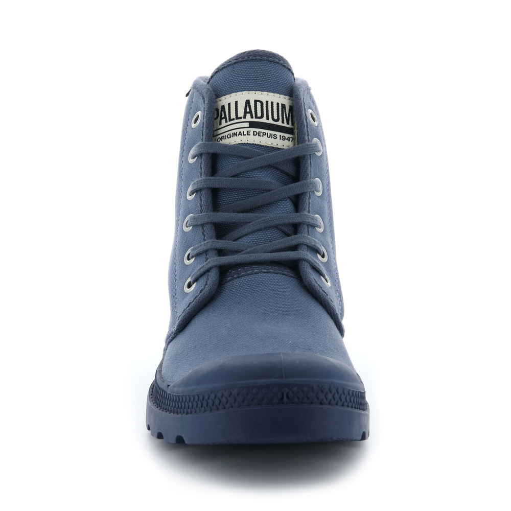 Palladium-Mens-Pampa-High-Orig-Boots-Canvas-Lace-Up-Walking-Hi-Top-Ankle-Shoes thumbnail 18