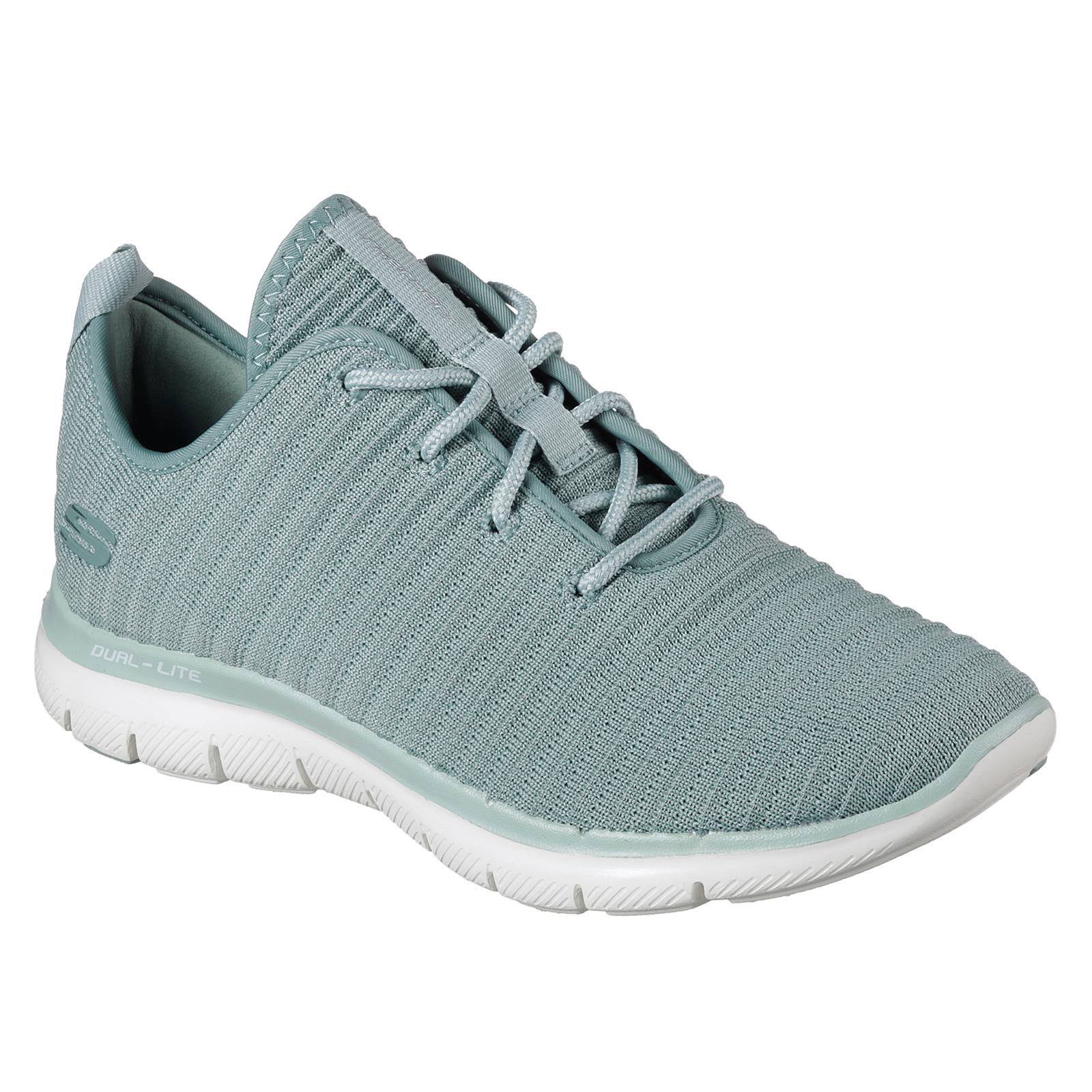 Skechers Damenschuhe Stretch Flex Appeal 2.0 Estates Trainers Stretch Damenschuhe Fabric Gym Footwear 829d66