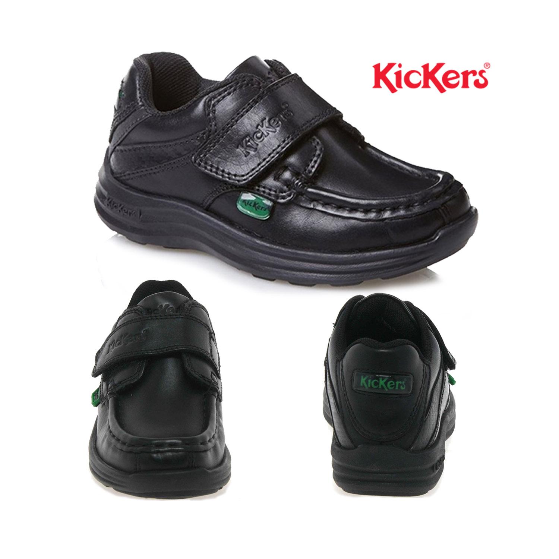 Kickers Infants Boys Reasan Black